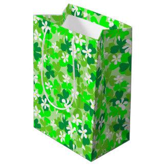 St Patrick's Day Shamrocks Medium Gift Bag