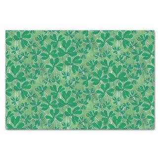 St. Patrick's Day Shamrocks Tissue Paper