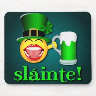 St Patrick's Day Sláinte Mousepad