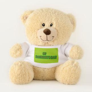st patrick's day Small teddy bear