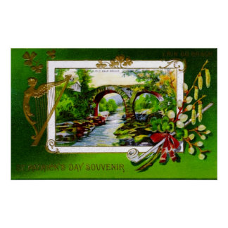 St. Patrick's Day Souvenir Poster