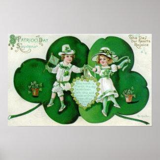 St Patrick's Day Souvenir Poster