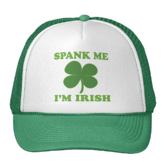 St Patricks Day Spank Me Im Irish Trucker Hat