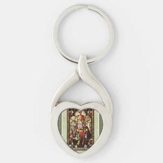 St. Patrick's Day   St. Patrick Metal Keychain