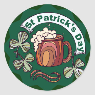 St. Patrick's Day Round Stickers