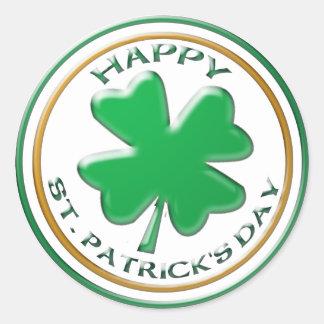 St Patricks Day sticker