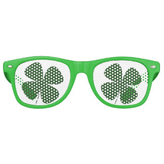 St. Patrick's Day Sunglasses - Four Leaf Clover