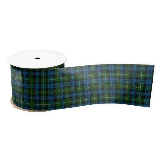 "St. Patrick's Day Tartan - Blue/Green 3"" Satin Ribbon"