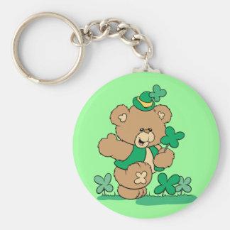 St. Patrick's Day Teddy Bear Key Chains