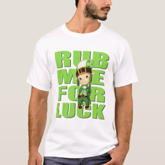 St Patricks Day Thomas the Lucky Elf T-Shirt
