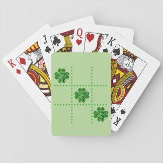 St. Patrick's Day Tic-Tac-Toe Shamrocks Cards