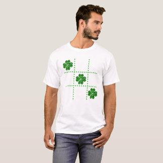 St. Patrick's Day Tic-Tac-Toe Shamrocks T-Shirt