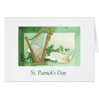 St. Patrick's Day Wish Card
