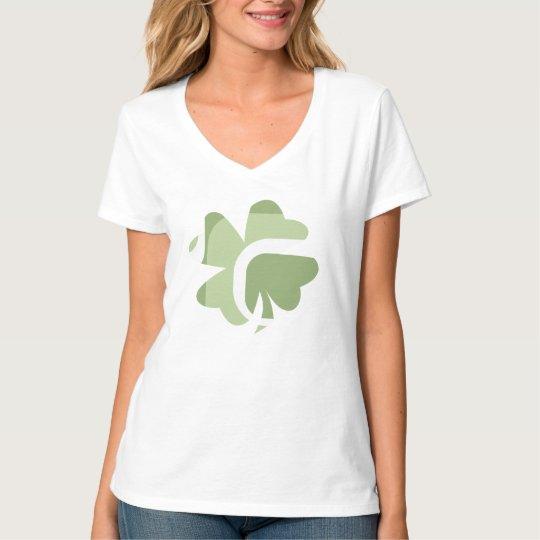 St. Patrick's Day - women's v-neck tee
