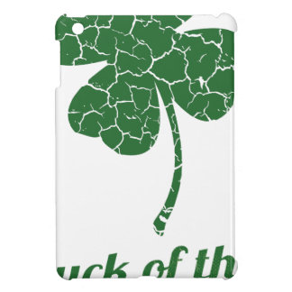 st patricks distressed lucky clover iPad mini cases