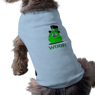 ST. PATRICK'S DOG COAT GREEN MONSTER SHIRT