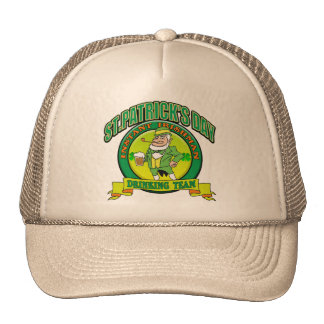 St. Patrick's Drinking Team Hats