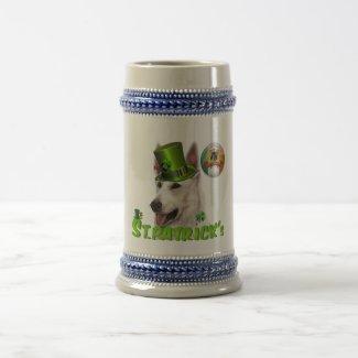 St. Patrick's German Shepherd Owner Mug/Stein