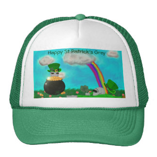 St Patrick's Grey Hat