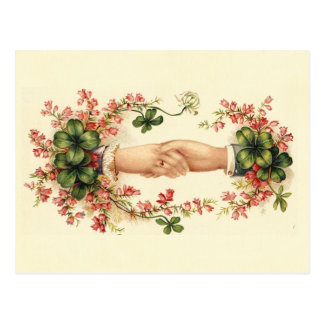 St. Patrick's Handshake Postcard