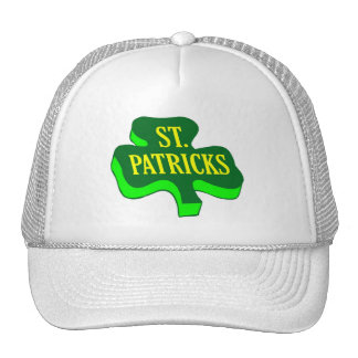 St Patricks Mesh Hat