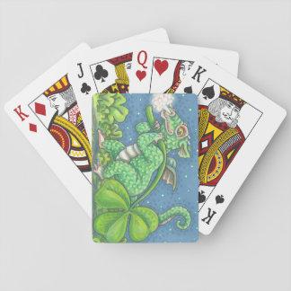 ST. PATRICK'S IRISH DRAGON PLAYING CARDS Poker