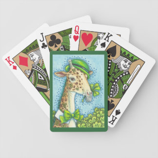 St. Patrick's IRISH GIRAFFE BICYCLE PLAYING CARDS