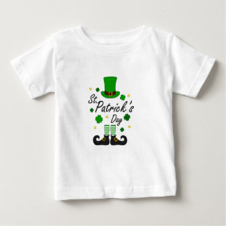 St Patricks Leprechaun Baby T-Shirt