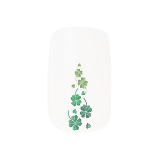 St. Patrick's Minx Nail Art