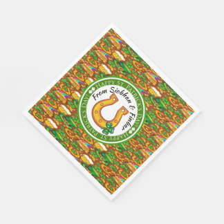 St. Patrick's Paper Napkins with Matching Products