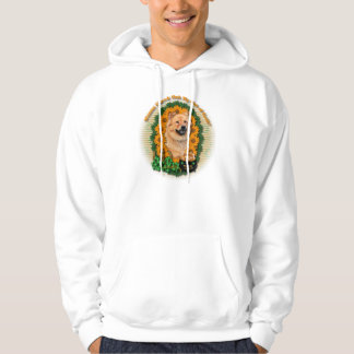 St Patricks - Pot of Gold - Chow Chow - Cinny Hoodie