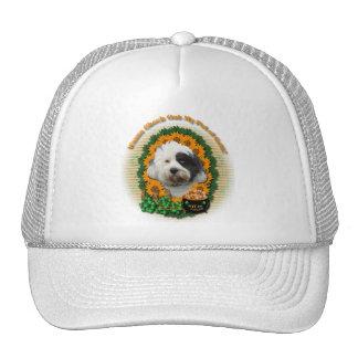 St Patricks - Pot of Gold - Tibetan Terrier Trucker Hat