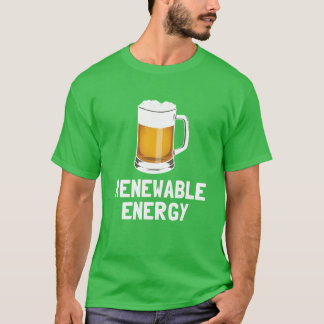 St. Patrick's Renewable Energy Beer T-Shirt
