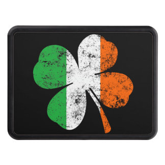 St Patricks Shamrock Irish Colors Hitch Trailer Trailer Hitch Cover