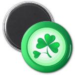 St. Patrick's Shamrock Magnets