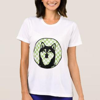 St Patricks - Shiba Inu Silhouette - Yasha T-Shirt