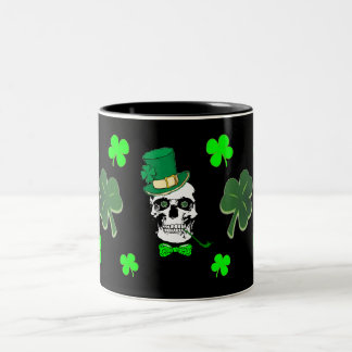St. Patrick's Skull Mug