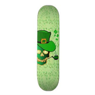 St Patricks skull Skate Board Decks
