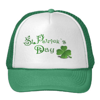 ST. Patricks Trucker Hat/Clover Trucker Hat