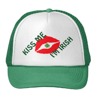 ST. Patricks Trucker Hat/Lips Trucker Hat