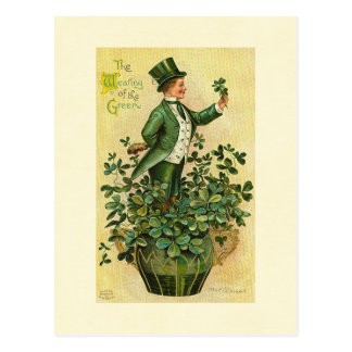 St. Patrick's Wearing of the Green Postcard