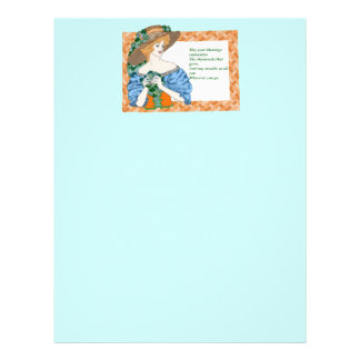 St. Pat's Blessing Personalized Letterhead