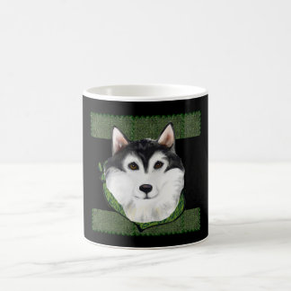 ST PATTY  Alaskan Malamute Coffee Mug