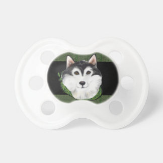 ST PATTY  Alaskan Malamute Pacifier