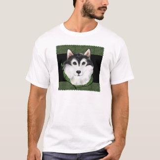 ST PATTY  Alaskan Malamute T-Shirt