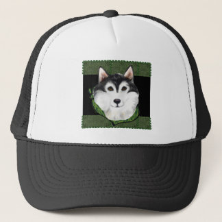 ST PATTY  Alaskan Malamute Trucker Hat