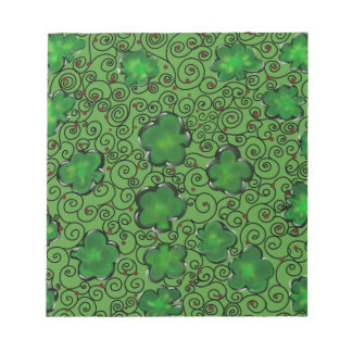 St. Patty Art Design Notepad