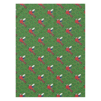 St Patty Parrot Tablecloth