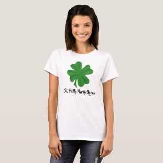 St. Patty Party Queen Women's Basic T-Shirt