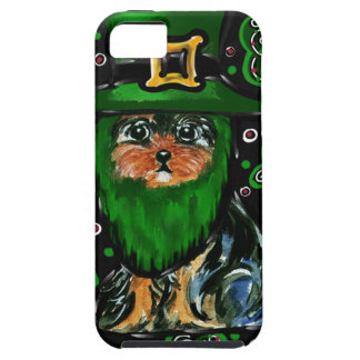 St. Patty Yorkie Poo iPhone 5 Cases